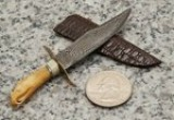 Miniature Eagle style bowie