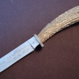 G37 - Stag Hunter with Striped Damascus $850.00