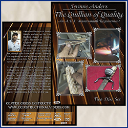 The Quillion of Quality with A.B.S. Mastersmith Jerome Anders 2 Disc Set