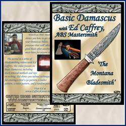 Basic Damascus with Ed Caffrey, A.B.S. Mastersmith