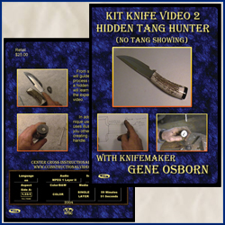 Kit Knife Video 2 Hidden Tang Hunter (No Tang Showing)