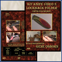 Kit Knife Video 3 Lockback Folder (With Filework)